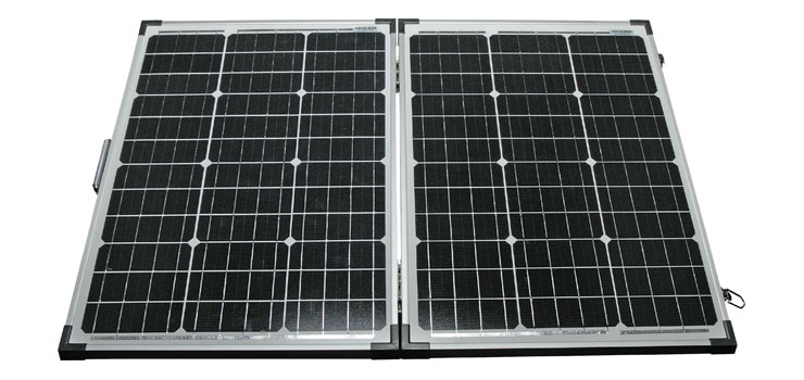 N1120 120w 12v Portable Folding Solar Panel Altronics