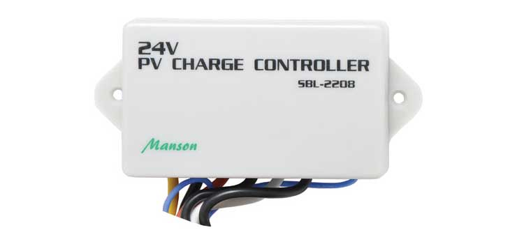 N2076 8A 24VDC Night Switch Solar Charger / Controller