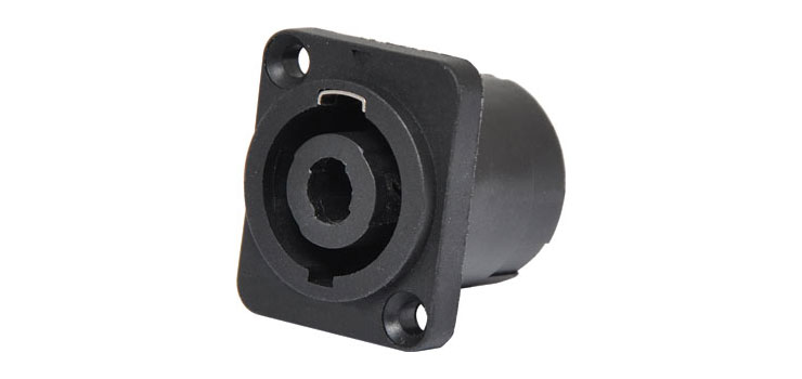 P0793A Rect. Chassis Mount Speaker Connector Socket