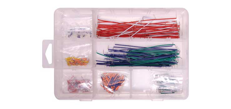 P1018A 350pc Prototyping Wire Kit For Solderless Breadboards