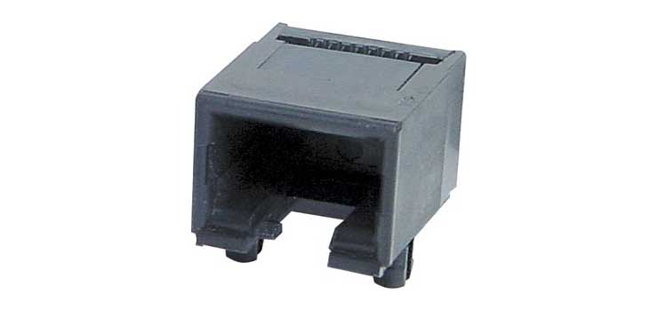 P1478A 8P8C RJ45 Modular Socket Surface Mount