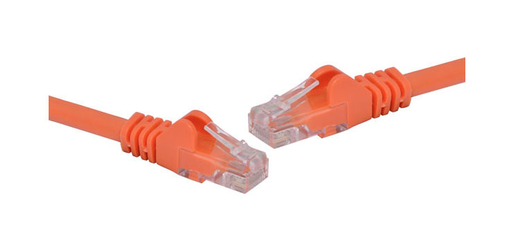 P1566B Orange 2m Cat6 UTP Ethernet Patch Cable