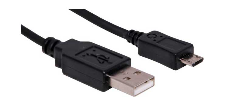 P1895A 0.3m A Male to Micro B Male USB 2.0 Cable