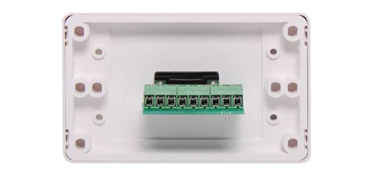 P5910 DE9 Serial Wallplate Dual Cover - Screw Connections