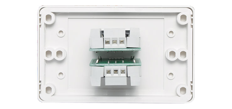 P5921 Dual VGA Wallplate Dual Cover - Screw Terminals