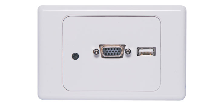 P6849A VGA / USB Plug Connection Clipsal 2000 Wallplate