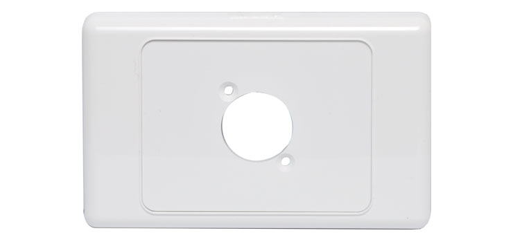 P8024 Wallplate For Single D Series Connector
