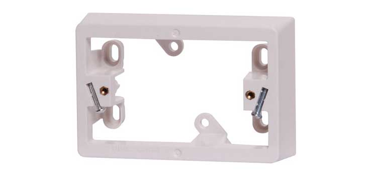 P8046 34mm Single Gang Clipsal Mains Mounting Block