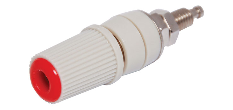 P9210 Red Insulated Captive Head Binding Post
