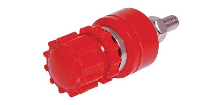 P9220 Red 30A 600V Heavy Duty Binding Post