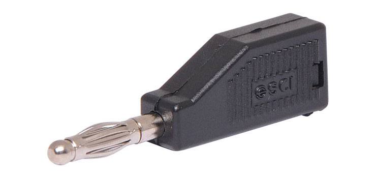 P9282A Black Stack Type Banana Plug