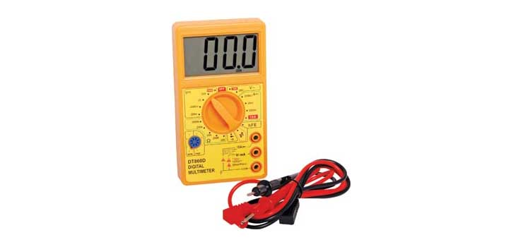 Q1053B 19 Range Digital Multimeter With Transistor Test