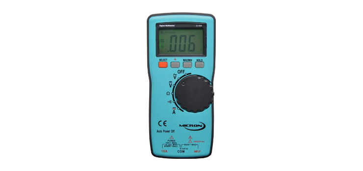 Q1064 Ultra-Slim Auto Ranging Digital Multimeter