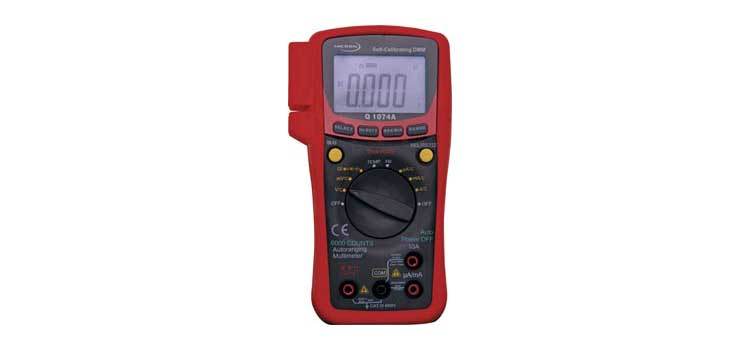 Q1074a Auto Ranging True RMS Digital Multimeter