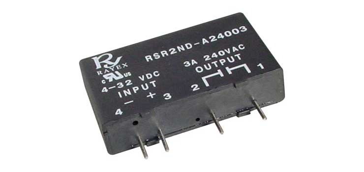 S4410 3A 240VAC SPST PCB Mount Solid State Relay