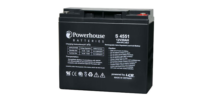 S4551 12V 20Ah Sealed Lead Acid (SLA) Battery