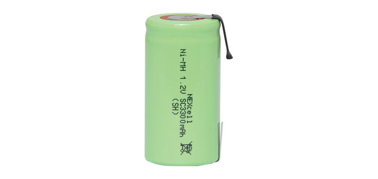 S4750B Sub C 3300mAh NiMh Rechargeable Battery