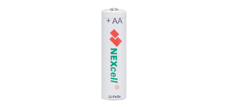 S4906A AA NexCell Long Life Lithium Battery 2pk