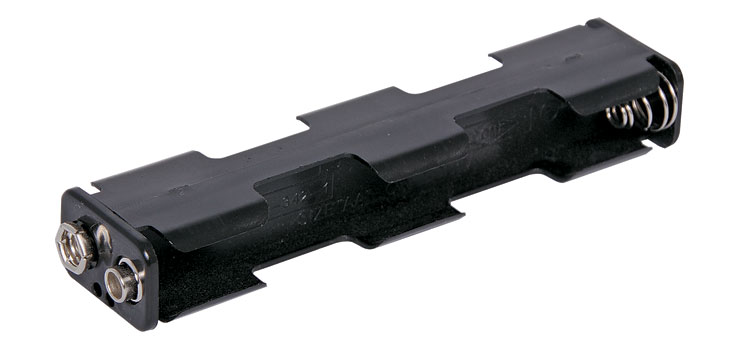 S5028 4 X AA Long Battery Holder