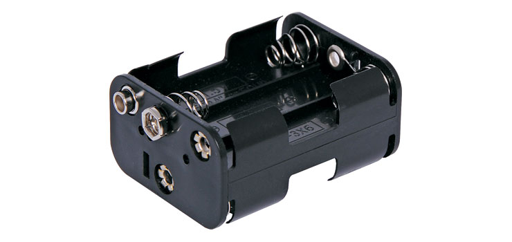 S5032 6 X AA Square Battery Holder