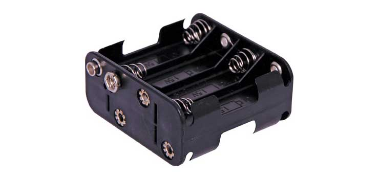 S5034 8 X AA Square Battery Holder