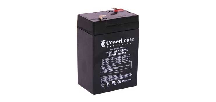 S5064D 6V 4.5Ah Sealed Lead Acid (SLA) Battery
