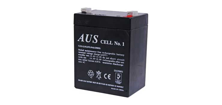 S5078 12V 2.9Ah Sealed Lead Acid (SLA) Battery