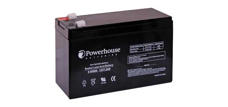 S5090D 12V 7.2Ah Sealed Lead Acid (SLA) Gel Battery