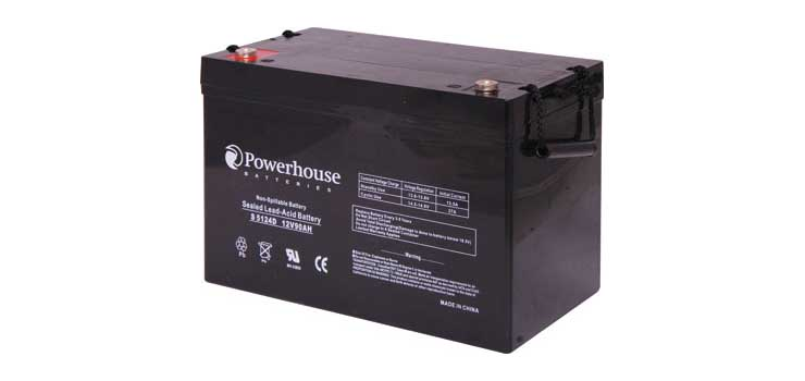 S5124D 12V 90Ah Deep Cycle Sealed Lead Acid (SLA) Battery