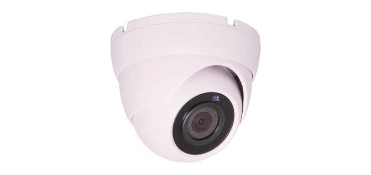 S9119B IR Colour Dome Camera 4MP White AHD/960H