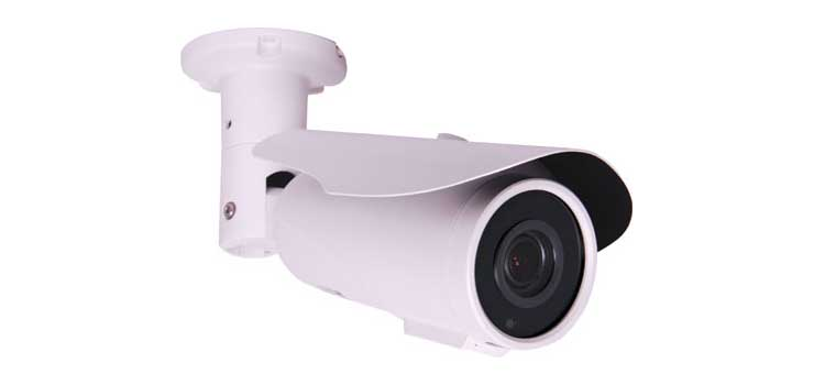 S9148 4MP AHD IR White Colour Vari Focal Bullet Camera