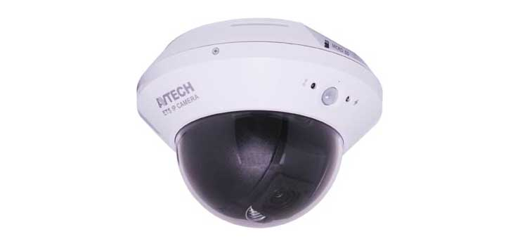 S9684 2.0 Megapixel Panning IP Dome Camera With IR