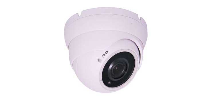 S9832A Network IP Infra-Red 5MP Vari-Focal Dome Camera With POE