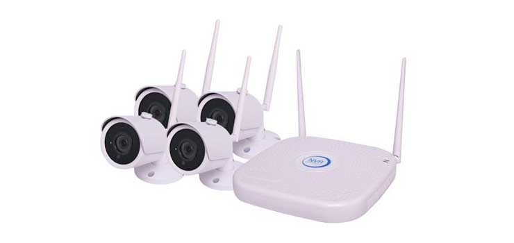 S9941 4 Channel Wireless 4MP CCTV Surveillance Package