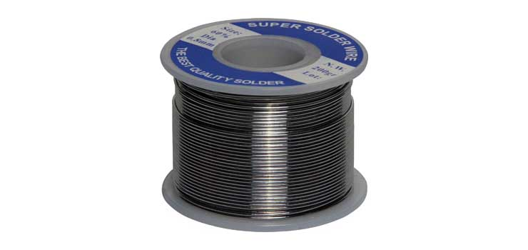 T1100 0.8mm 200gm Roll 60/40 Leaded Solder