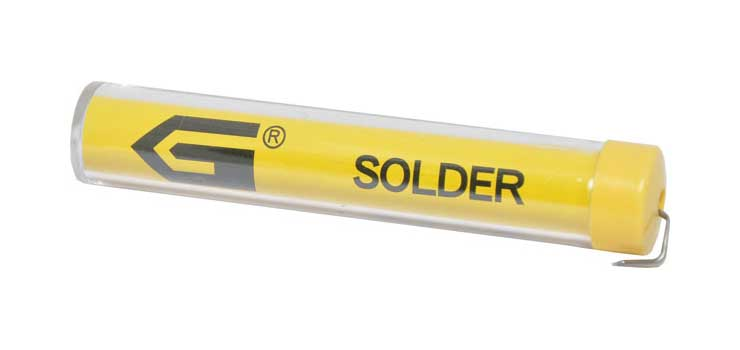 T1095 0.8mm Tube 17gm 60/40 Leaded Solder