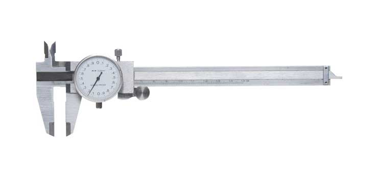 T2245 Metal Dial Vernier Calipers