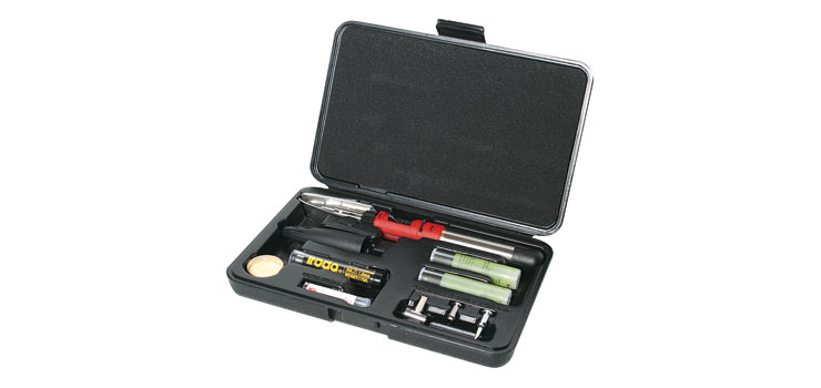T2631 Solderpro 150 125W Gas Soldering Iron Kit - Cartridge Powered