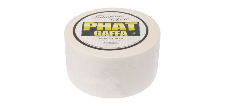T2963 76mm x 40m White Phat-Gaffa Tape