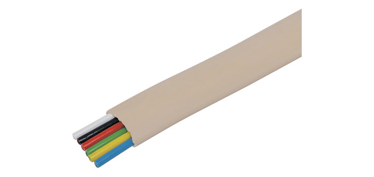 W2313 6 Core Flat Modular Telephone Cable