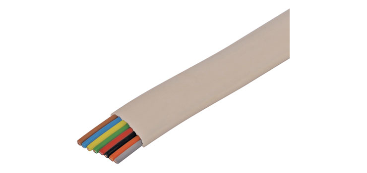 W2314 8 Core Flat Modular Telephone Cable