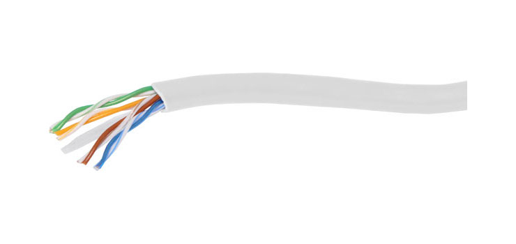 W7132 Grey Cat6 U/UTP LAN Data Cable