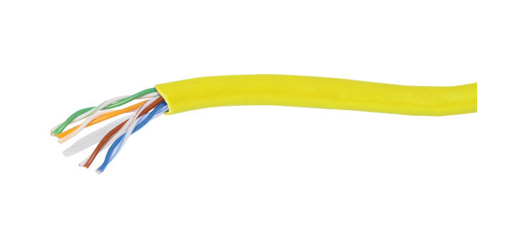WR7137 Yellow Cat6 U/UTP LAN Data Cable