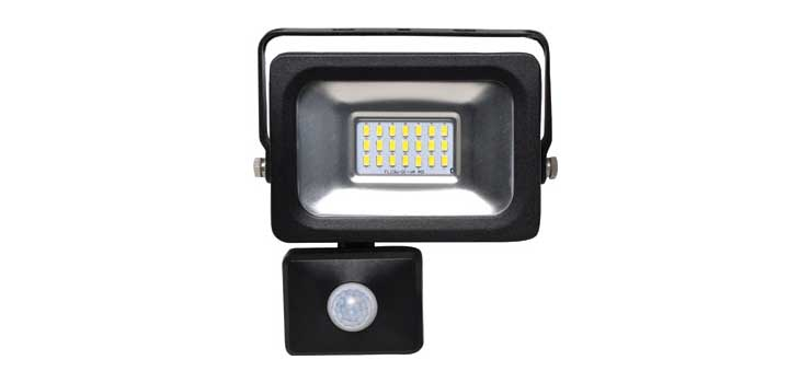 X2340B 10W 240V IP65 Weatherproof PIR LED Floodlight
