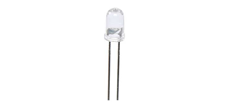 Z0876E White 22500mcd 5mm LED