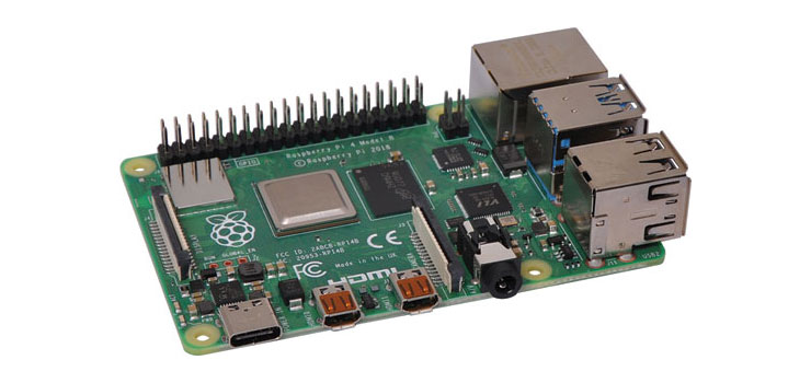 Z6302G Raspberry Pi 4 Model B Single Board Computer 4GB