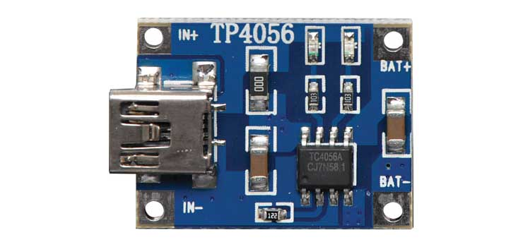 Z6388 USB Lithium Charger Module