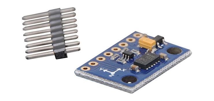 3-axis magnetometer digital I2C module 6D 4D LSM303DLHC 3-axis accelerometer