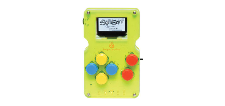 Z6457 Programmable Handheld Game Console DIY Kit