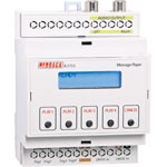 A1715 DIN Rail MP3/SD Message Player